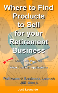 Where to find products to sell for your retirement business.