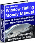 window tinting money manual
