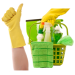 cleaning retirement business bucket