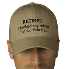retirement business T-shirt
